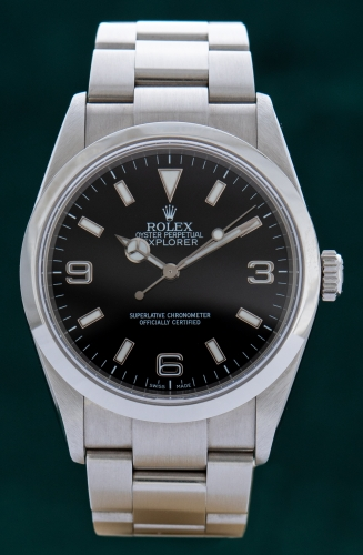 Rolex Explorer, Z-Serie Reference 114270, Full Set, LC100
