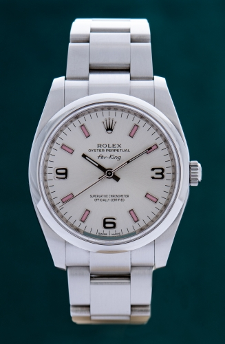 Rolex Oyster Air King, Reference 114200, FULL SET