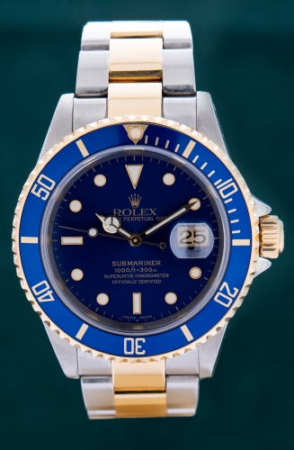 Rolex Submariner, P-Serie, Reference 16613
