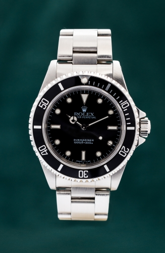 Rolex Submariner, T-Serie, Reference 14060, FULL SET