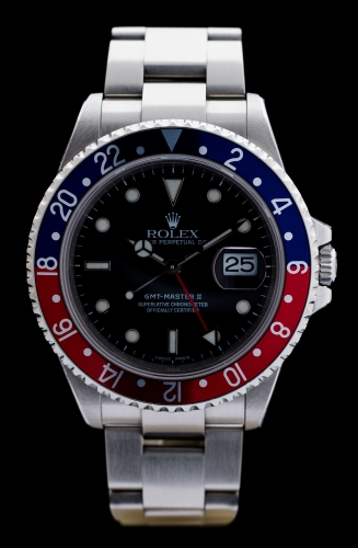 Rolex GMT Master II, Reference 16710, FULL SET, Revision 09/2015
