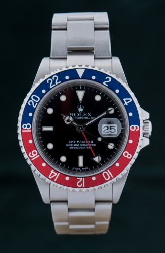 Rolex GMT Master II, Y-Serie, Reference 16710