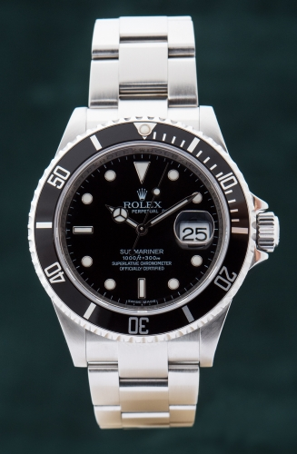Rolex Submariner Date, V-Serie, Reference 16610