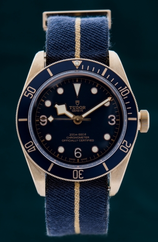 Tudor Heritage Black Bay Bronze Blue, Reference 79250BB