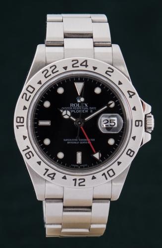 Rolex Explorer II, D-Serie, Reference 16570, FULL SET