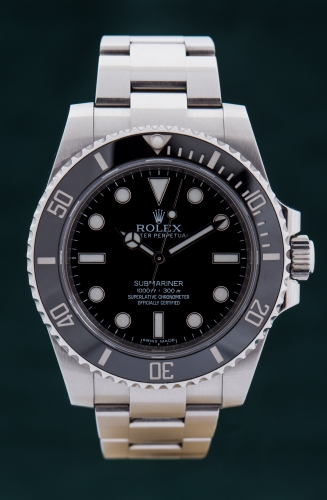 Rolex Submariner no Date, Reference 114060, FULL SET