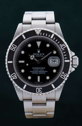 Rolex Submariner, F-Serie, Reference 16610