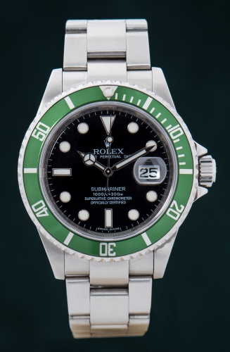 Rolex Submariner Date, Reference 16610LV, M-Serie, FULL SET