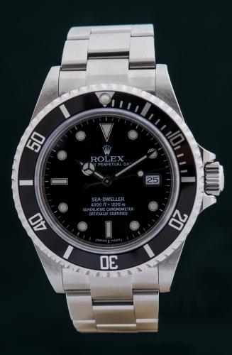 Rolex Sea Dweller M-Serie Reference 16600 FULL SET ungetragen