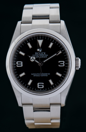 Rolex Explorer, V-Serie Reference 114270, Full Set