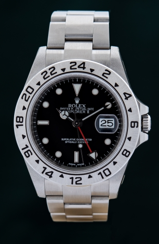 Rolex Explorer II, G-Serie, Reference 16570, FULL SET