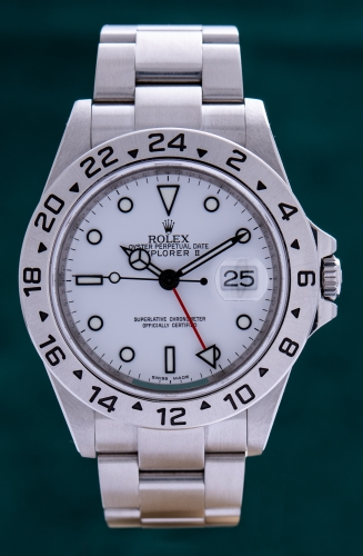 Rolex Explorer II, V-Serie, Reference 16570, FULL SET
