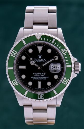 Rolex Submariner Date, M-Serie, Reference 16610LV, FULL SET
