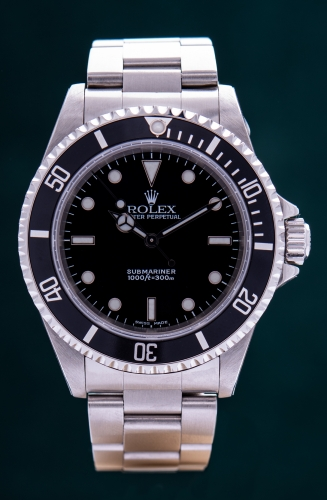 Rolex Submariner no Date, Reference 14060M, FULL SET