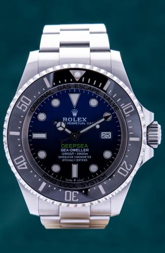 Rolex Deepsea D-Blue James Cameron, Reference 126660