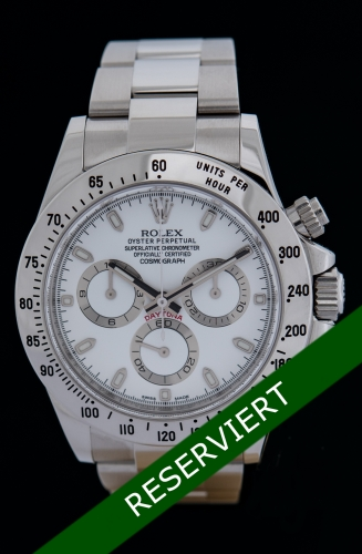 Rolex Daytona, Reference 116520, FULL SET