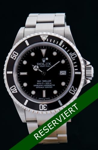 Rolex Sea-Dweller, D-Serie, Reference 16600, Full Set