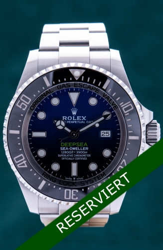 Rolex Deepsea D-Blue James Cameron, Reference 126660