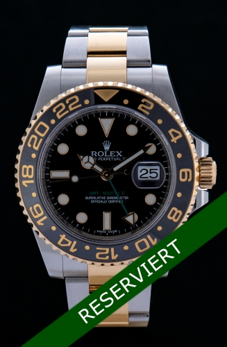 Rolex GMT Master II, Reference 116713LN