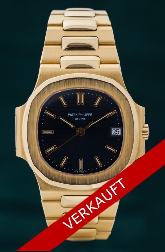 Patek Philippe Nautilus, Reference 3800 / 001, FULL SET
