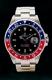 Rolex GMT Master II, Z-Serie, Reference 16710 BLRO, Rectangular